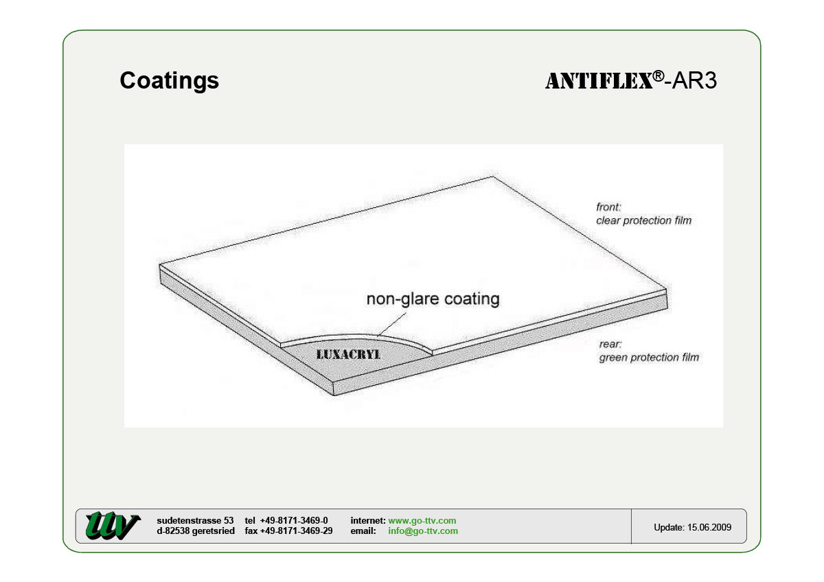 ANTIFLEX-AR3 Coatings