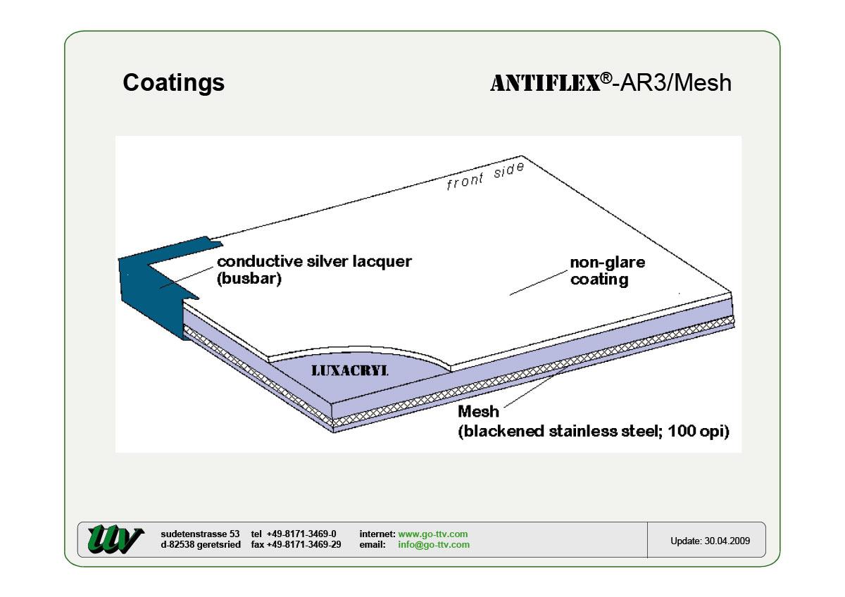 ANTIFLEX-AR3/Mesh Coatings