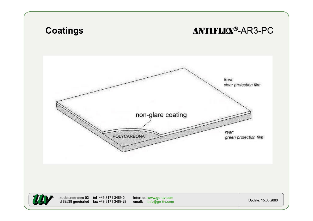 ANTIFLEX-AR3-PC Coatings