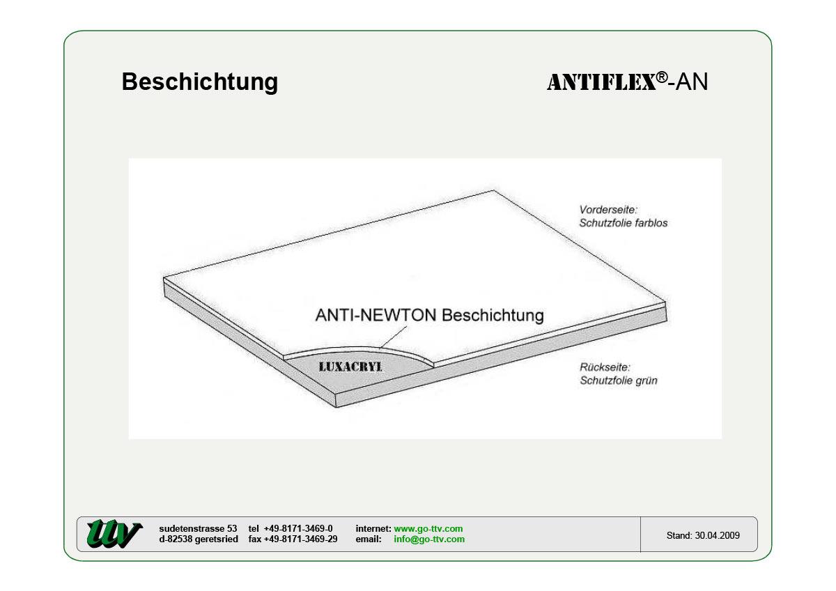 Antiflex-AN Beschichtung