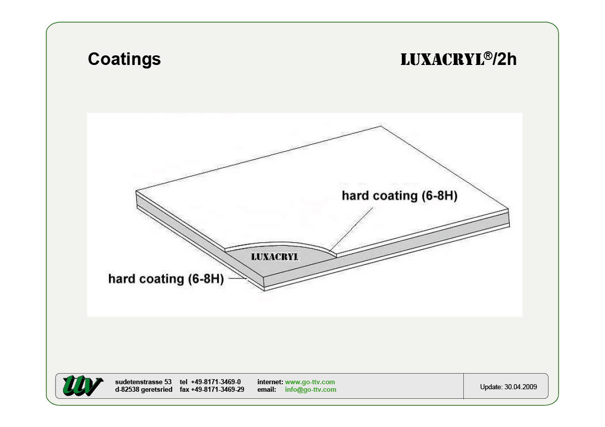 Luxacryl/2h Coatings
