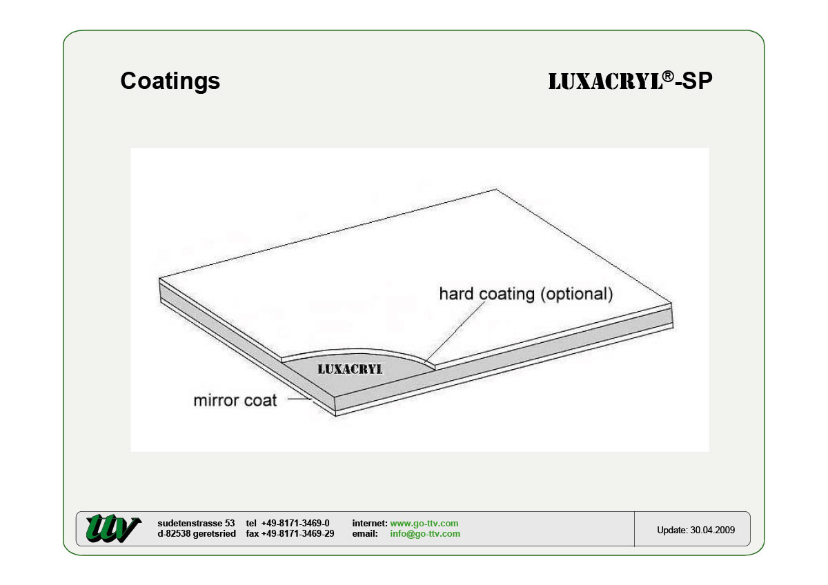 Luxacryl-SP Coatings