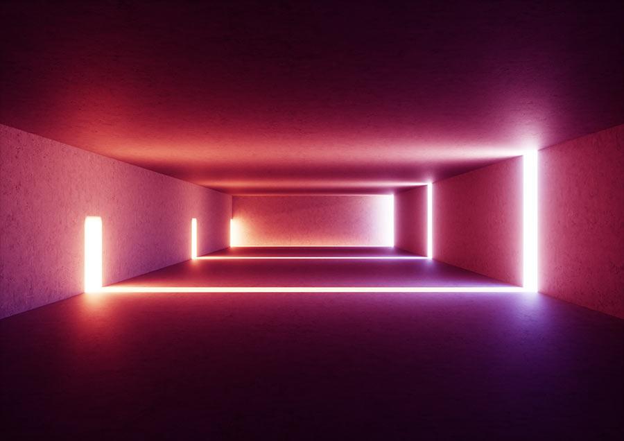 Streuscheiben LED-Korridor